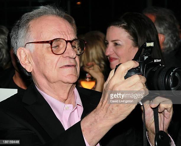 Photographer Bert Stern attends Taschen's 'Norman Mailer Bert Stern Marilyn Monroe' book launch at Hotel BelAir on December 6 2011 in Los Angeles...