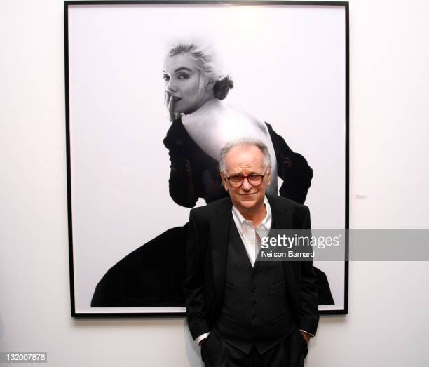 Photographer Bert Stern attends the Dior and The Weinstein Company's opening of 'Picturing Marilyn' at Milk Gallery on November 9 2011 in New York...
