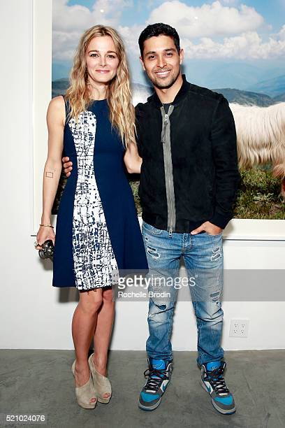 Photographer Bojana Novakovic and actor Wilmer Valderrama attend the Photo Femmes Exhibition Opening at De Re Gallery featuring the work of Ashley...