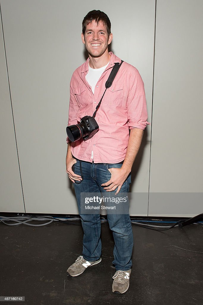 Photographer <a gi-track='captionPersonalityLinkClicked' href=/galleries/search?phrase=Brandon+Stanton&family=editorial&specificpeople=10514754 ng-click='$event.stopPropagation()'>Brandon Stanton</a> attends the Little Humans of New York panel at 2014 New York Comic Con Day 4 at Jacob Javitz Center on October 12, 2014 in New York City.