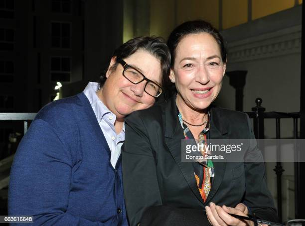 Photographer Catherine Opie and art dealer Shaun Caley Regen attend MOCA's Leadership Circle and Members' Opening of 'Carl Andre Sculpture as Place...