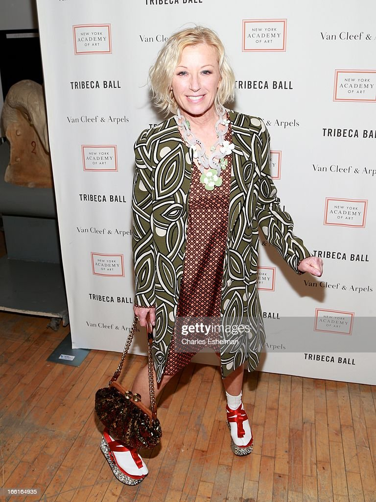 Photographer <a gi-track='captionPersonalityLinkClicked' href=/galleries/search?phrase=Cindy+Sherman&family=editorial&specificpeople=741462 ng-click='$event.stopPropagation()'>Cindy Sherman</a> attends 2013 Tribeca Ball at New York Academy of Art on April 8, 2013 in New York City.