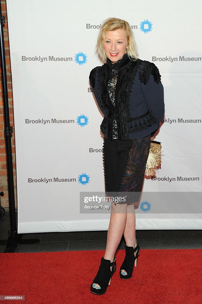 Photographer Cindy Sherman attends the 5th Annual Brooklyn Artists Ball at Brooklyn Museum on April 15 2015 in New York