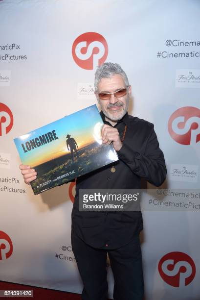 Photographer / curator Dennys Ilic attends the reveal of the 'Longmire' coffee table book by Cinematic Pictures Group Publishing at Cinematic...