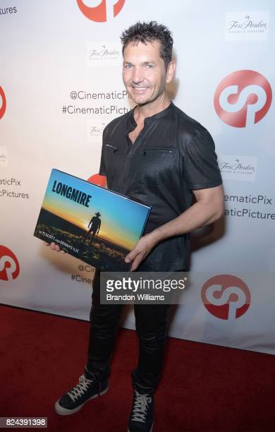 Photographer / curator TJ Scott attends the reveal of the 'Longmire' coffee table book by Cinematic Pictures Group Publishing at Cinematic Pictures...