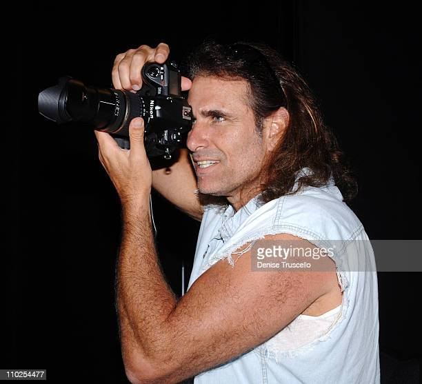 Photographer Dan Peterson during Chippendales 2006 Calendar Photo Shoot at Chippendales Theatre at The Rio Hotel and Casino Resort in Las Vegas Nevada