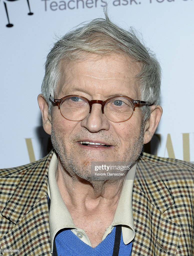 Photographer <a gi-track='captionPersonalityLinkClicked' href=/galleries/search?phrase=David+Hockney&family=editorial&specificpeople=215305 ng-click='$event.stopPropagation()'>David Hockney</a> attends the Annie Leibovitz Book Launch presented by Vanity Fair, Leon Max and Benedikt Taschen during Vanity Fair Campaign Hollywood at Chateau Marmont on February 26, 2014 in Los Angeles, California.