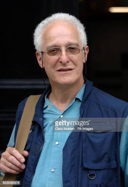 Photographer David Hoffman leaves the central London County Court in London during the middle of a trial in which he is suing Respect MP George...