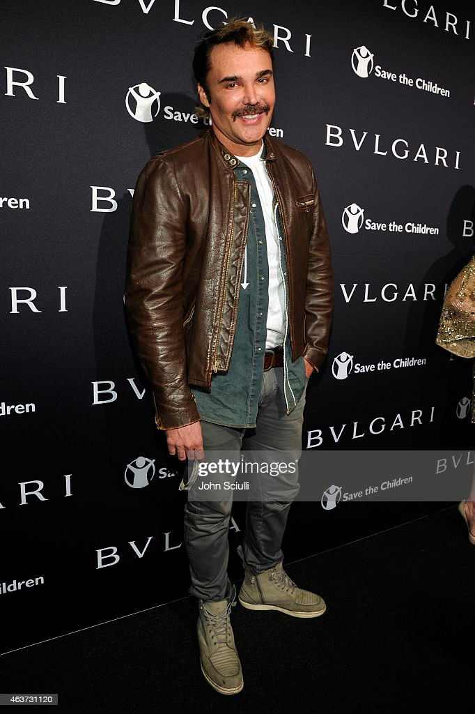 Photographer David LaChapelle attends BVLGARI and Save The Children STOP. THINK. GIVE. Pre-Oscar Event at Spago on February 17, 2015 in Beverly Hills, California.