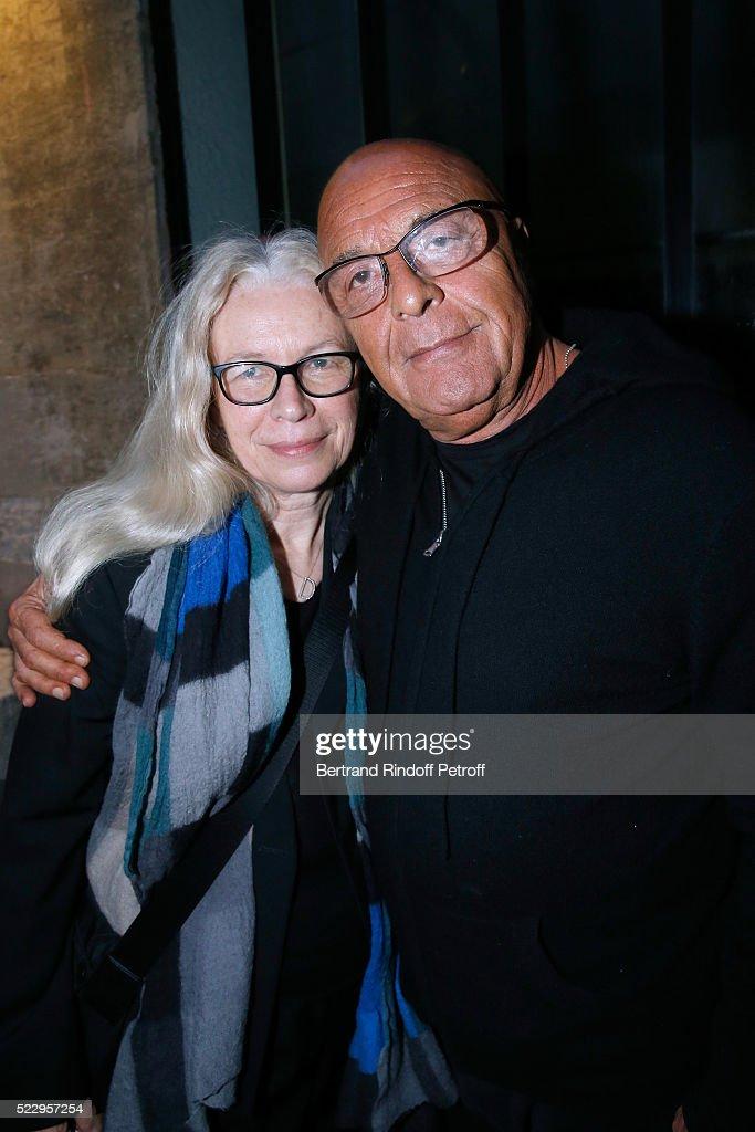 """Pierre Guyotat, """"La Matiere De Nos Oeuvres"""" Exhibition Opening In Paris"""