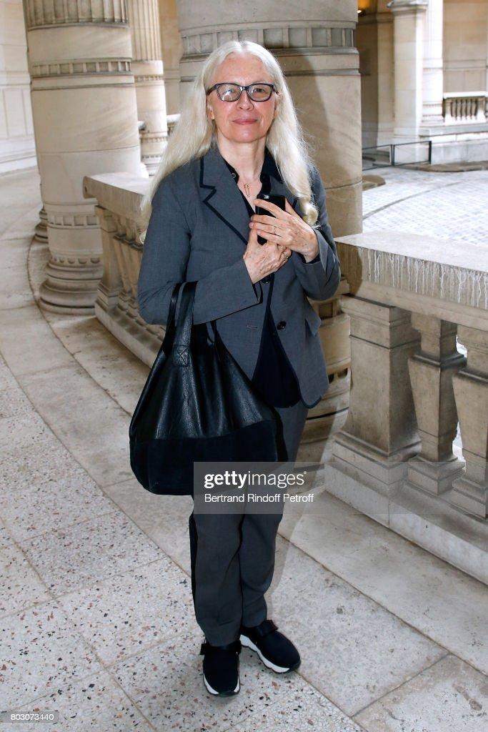 """Artistic Director Of Lanvin, Bouchra Jarrar Is Decorated """"Officier De L'Ordre Des Arts Et Des Lettres"""" In Paris"""