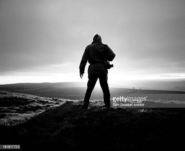 S WALL NORTHUMBERLAND UNITED KINGDOM NOVEMBER 2009 Photographer Don McCullin photographed at dawn near Hadrian's Wall in Northumberland McCullin is...