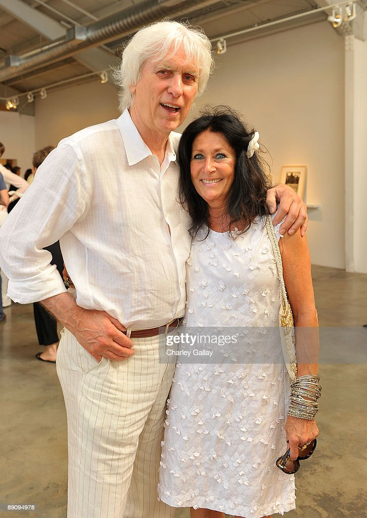Photographer Douglas Kirkland and wife, Francoise Kirkland attend the reception of 'Jessica Lange: 50 Photographs 1992-2008' at The Rose Gallery on July 18, 2009 in Santa Monica, California.