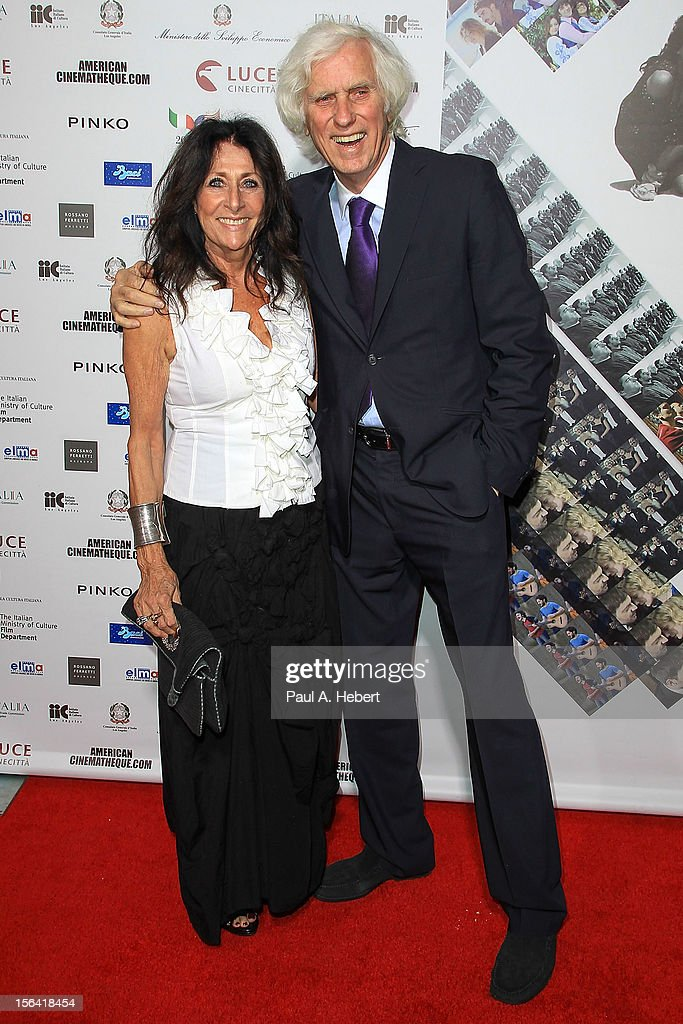 Photographer <a gi-track='captionPersonalityLinkClicked' href=/galleries/search?phrase=Douglas+Kirkland&family=editorial&specificpeople=2284838 ng-click='$event.stopPropagation()'>Douglas Kirkland</a> arrives to the 2012 Cinema Italian Style Opening Night Gala Screening Of 'Caesar Must Die' at the Egyptian Theatre on November 14, 2012 in Hollywood, California.