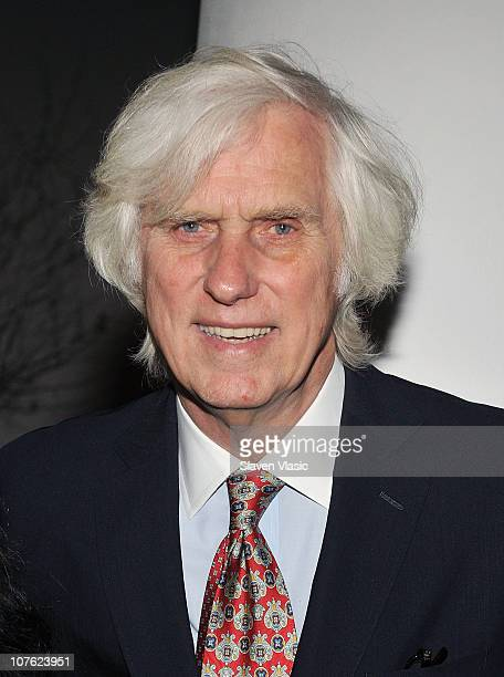 Photographer Douglas Kirkland attends the opening night reception of 'Bernardo Bertolucci' at The Museum of Modern Art on December 15 2010 in New...