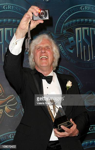 Photographer Douglas Kirkland poses at the 25th Annual American Society Of Cinematographers Awards on February 13 2011 in Hollywood California