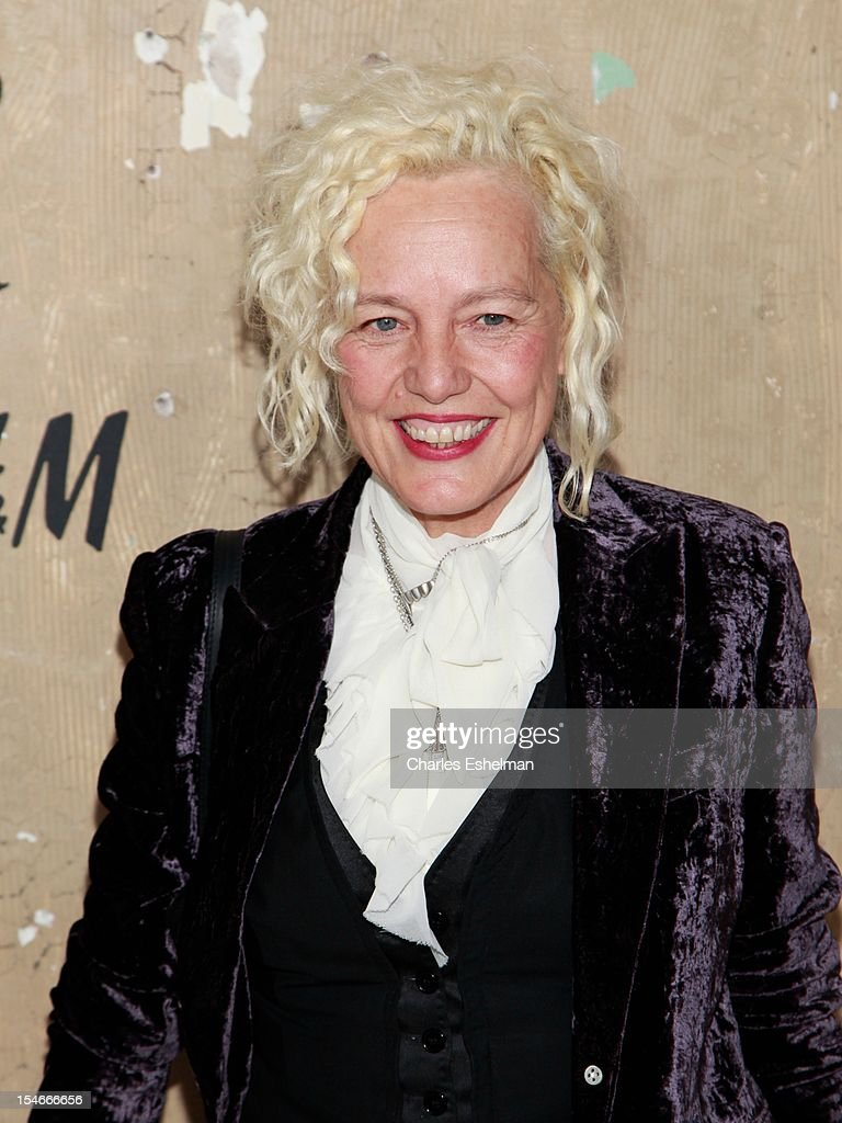 Photographer Ellen Von Unwert attends the Maison Martin Margiela & H&M Global launch party at 5 Beekman on October 23, 2012 in New York City.