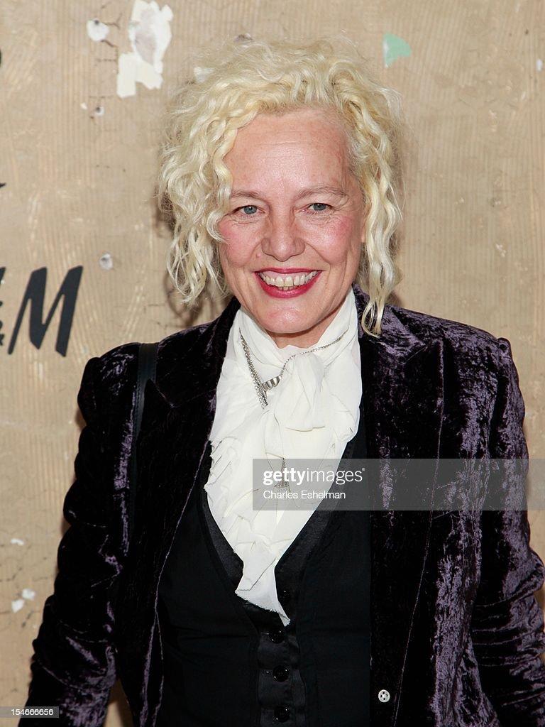 Photographer Ellen Von Unwert attends the Maison Martin Margiela & H&M Global launch party at 5 Beekman on October 23, 2012 in New York City.