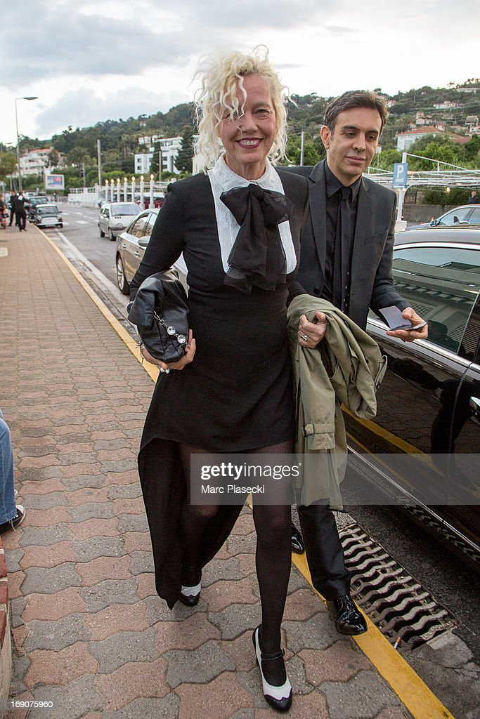 Photographer Ellen von Unwerth arrives to attend the 'Vanity Fair Chanel' dinner at 'Tetou' restaurant during the 66th Annual Cannes Film Festival on May 19, 2013 in Le Golfe Juan, France.