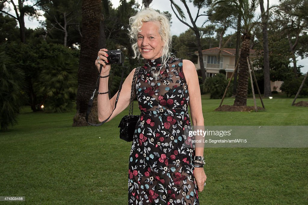 Photographer Ellen Von Unwerth attends amfAR's 22nd Cinema Against AIDS Gala, Presented By Bold Films And Harry Winston at Hotel du Cap-Eden-Roc on May 21, 2015 in Cap d'Antibes, France.