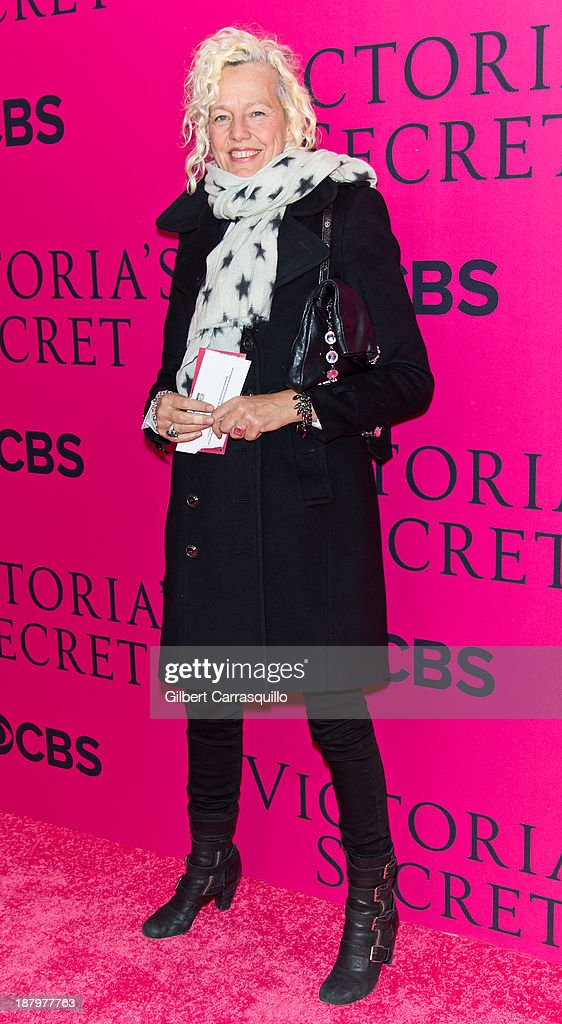 Photographer Ellen von Unwerth attends the 2013 Victoria's Secret Fashion Show at Lexington Avenue Armory on November 13, 2013 in New York City.