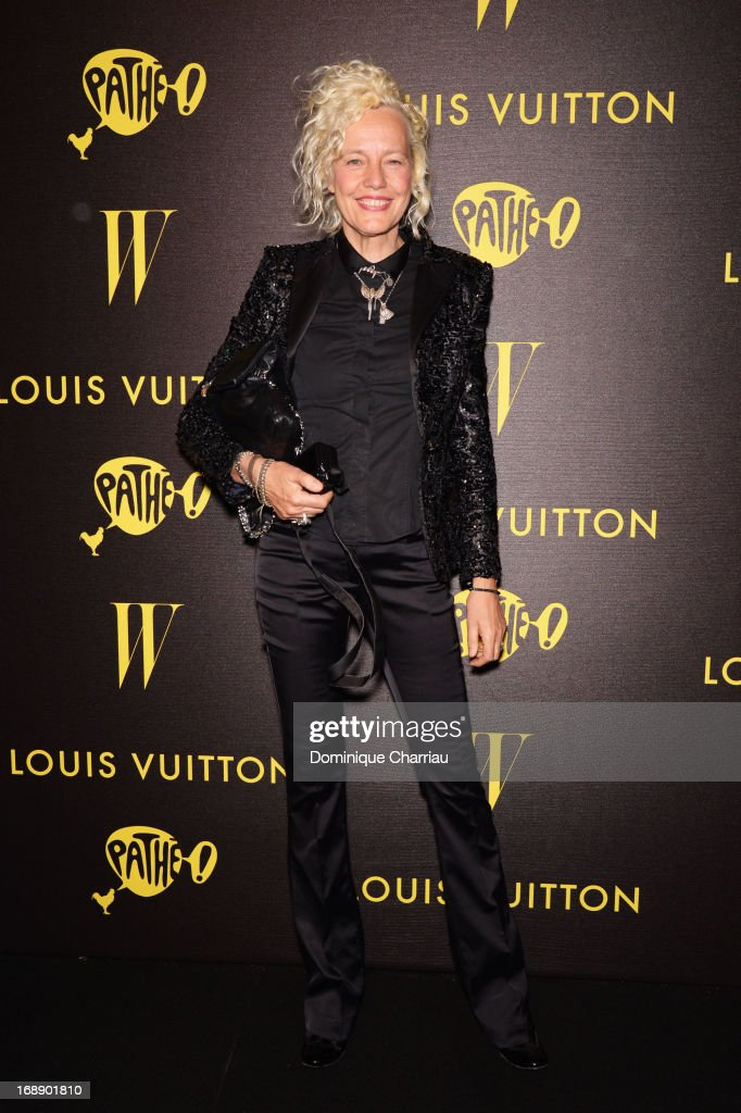 Photographer Ellen von Unwerth attends The Bling Ring Party hosted by Louis Vuitton during the 66th Annual Cannes Film Festival at Club d'Albane/JW Marriott on May 16, 2013 in Cannes, France.