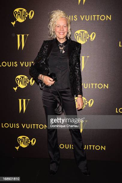 Photographer Ellen von Unwerth attends The Bling Ring Party hosted by Louis Vuitton during the 66th Annual Cannes Film Festival at Club d'Albane/JW...