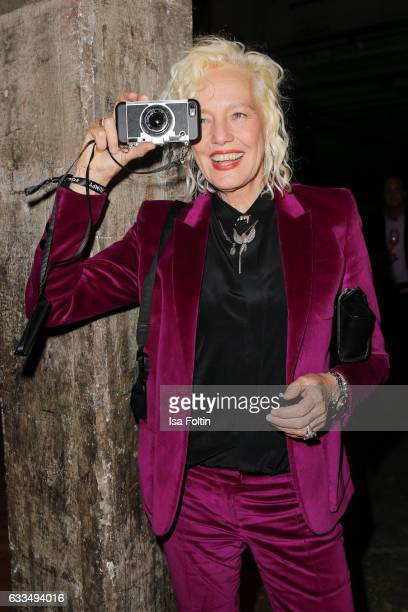 Photographer Ellen von Unwerth attends the Presentation of the new Opel Calender 2017 at Kraftwerk Mitte on February 1 2017 in Berlin Germany