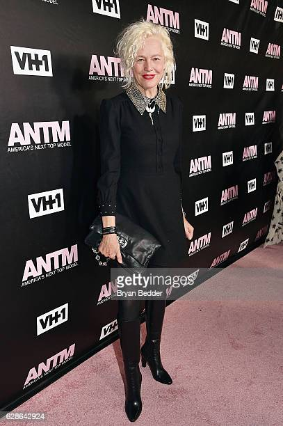 Photographer Ellen von Unwerth attends the VH1 America's Next Top Model premiere party at Vandal on December 8 2016 in New York City