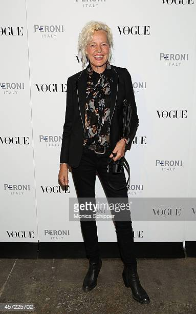 Photographer Ellen von Unwerth attends the Vogue Italia Opening Night Exhibition at Industria Studios on October 14 2014 in New York City