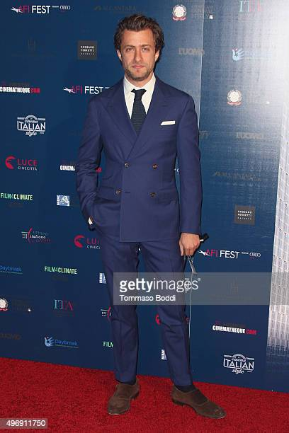 Photographer Francesco Carrozzini attends the 11th Cinema Italian Style opening night screening of 'Don't Be Bad' held at the Egyptian Theatre on...