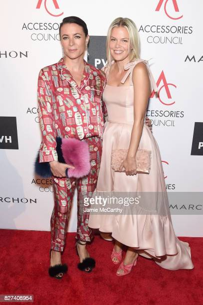 Photographer Garance Dore and footwear designer Jessie Randall attends the Accessories Council's 21st Annual celebration of the ACE awards at...