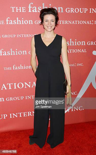 Photographer Garance Dore attends the 2015 Fashion Group International's Night of Stars at Cipriani Wall Street on October 22 2015 in New York City