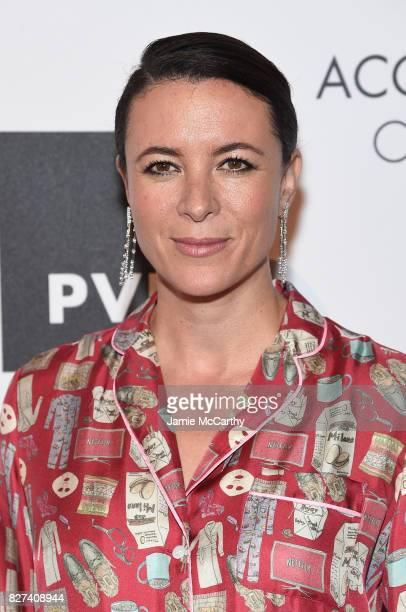 Photographer Garance Dore attends the Accessories Council's 21st Annual celebration of the ACE awards at Cipriani 42nd Street on August 7 2017 in New...