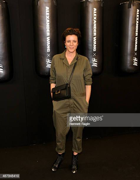 Photographer Garance Dore attends the Alexander Wang X HM Launch on October 16 2014 in New York City