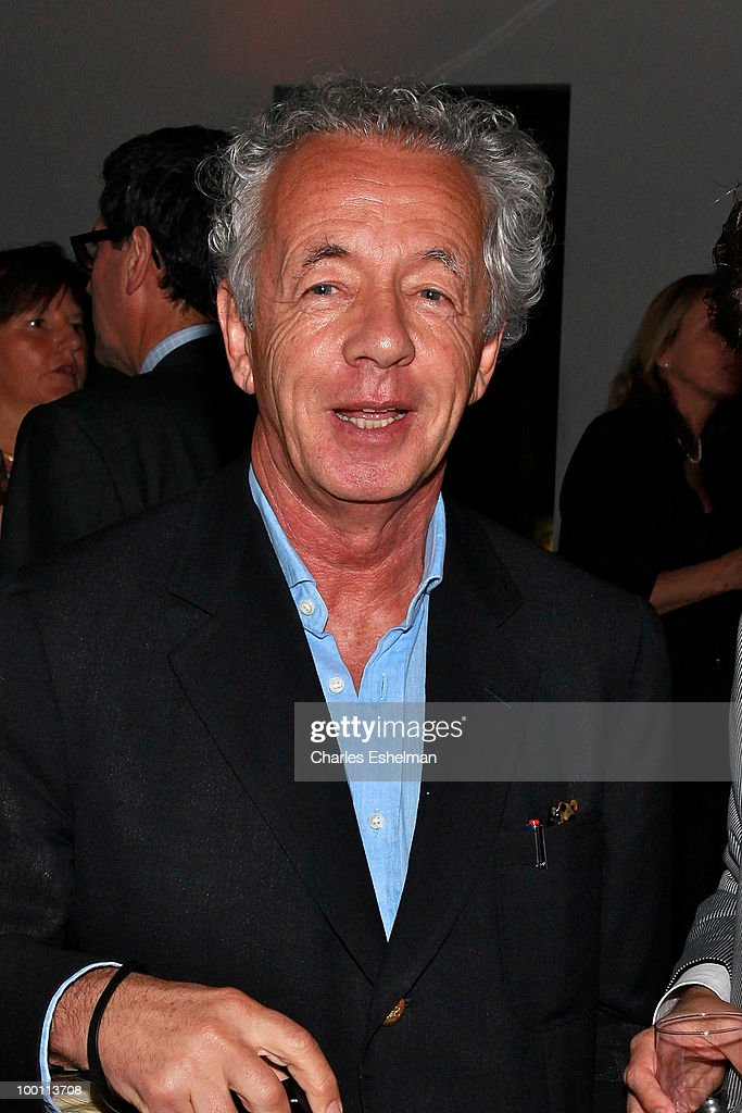 Photographer Gilles Bensimon attends the reception after the screening of 'The Making of 'Last Year at Marienbad' hosted by Diane von Furstenberg and Bernard-Henri Levi to benefit La Maison Francaise at New York University at Diane Von Furstenberg Gallery on May 20, 2010 in New York City.