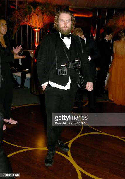 Photographer Greg Williams attends the 2017 Vanity Fair Oscar Party hosted by Graydon Carter at Wallis Annenberg Center for the Performing Arts on...
