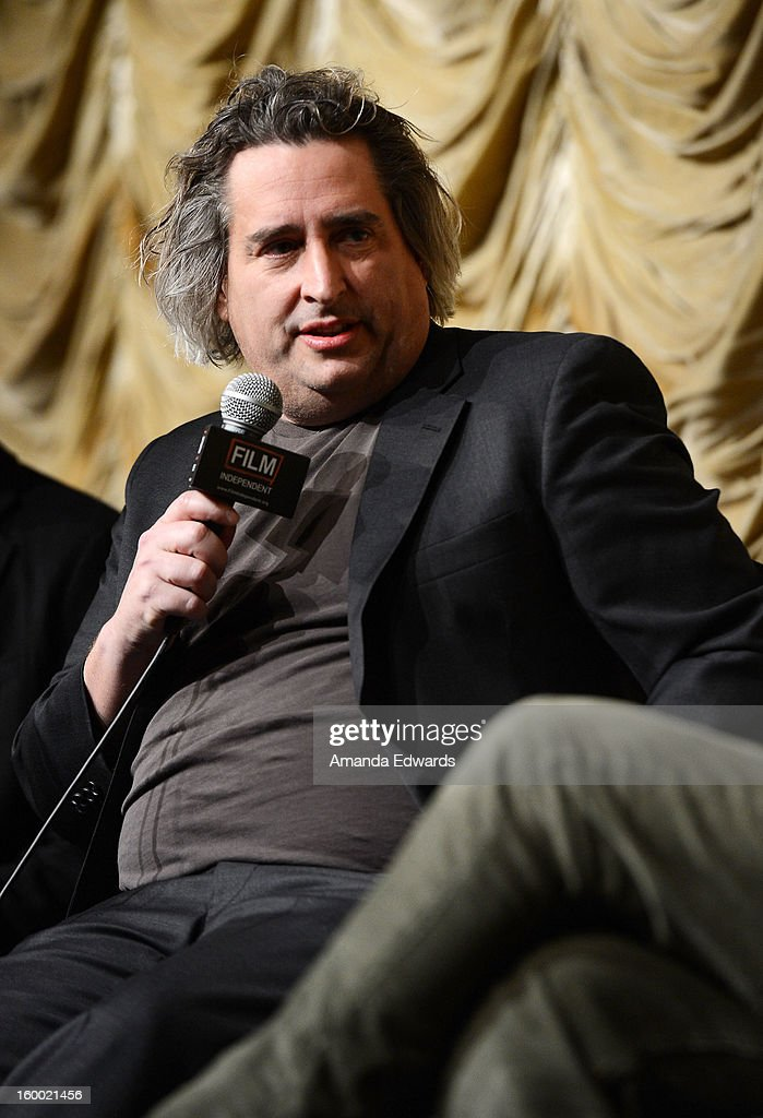 Photographer Gregory Crewdson attends the Film Independent screening of Gregory Crewdson: Brief Encounters at the Bing Theatre At LACMA on January 24, 2013 in Los Angeles, California.
