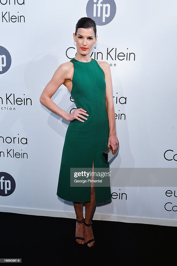 Photographer Hanneli Mustaparta attends a party hosted by Calvin Klein and IFP to celebrate women in film at The 66th Annual Cannes Film Festival>> at L'Ecrin Plage on May 16, 2013 in Cannes, France.