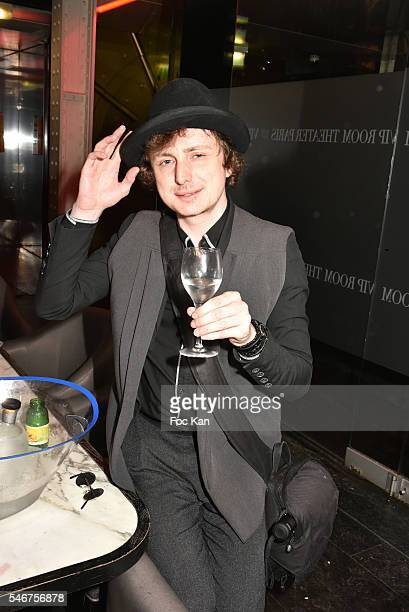 Photographer Hannibal Volkoff attends the Dexter Dex Tao Birthday Party at the Xu Sushis bar on July 12 2016 in Paris France