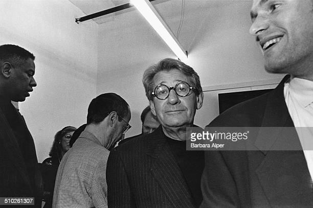 Photographer Helmut Newton in New York City September 1995