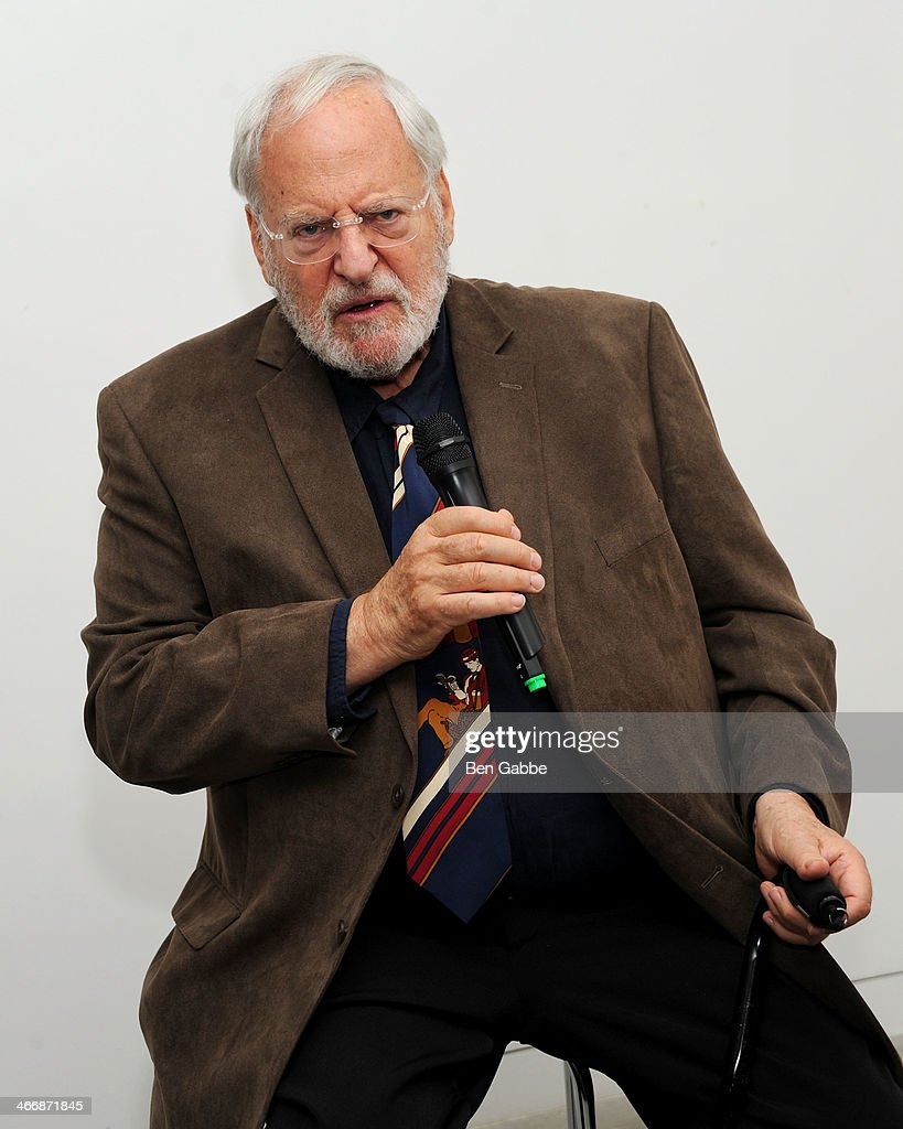 Photographer Henry Grossman attends The Beatles 50 Year Commemorative Anniversary photo exhibit at Rock Paper Photo NYC Pop Up Gallery on February 4, 2014 in New York City.