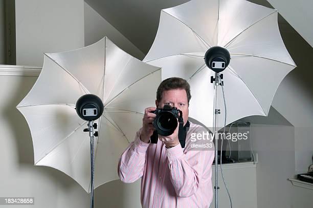 Fotografen im Studio