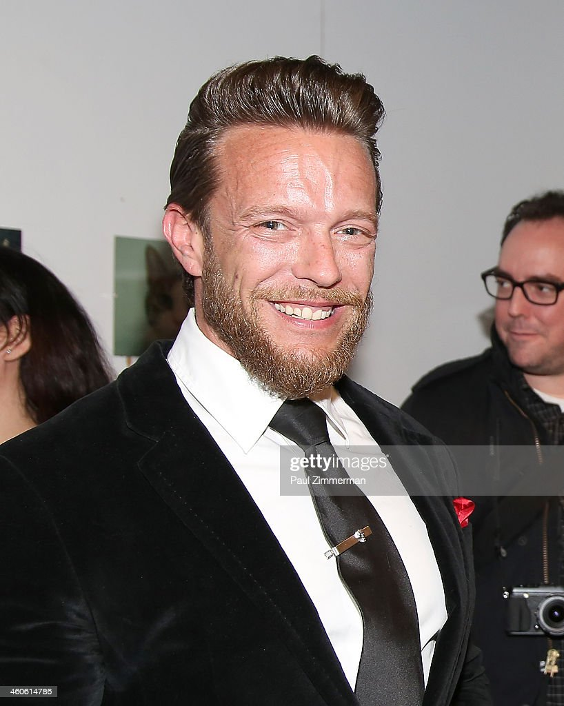 Photographer Jamie McCarthy attends a pet portrait exhibition by Getty Images staff photographer Jamie McCarthy to benefit Animal Care Control of NYC...