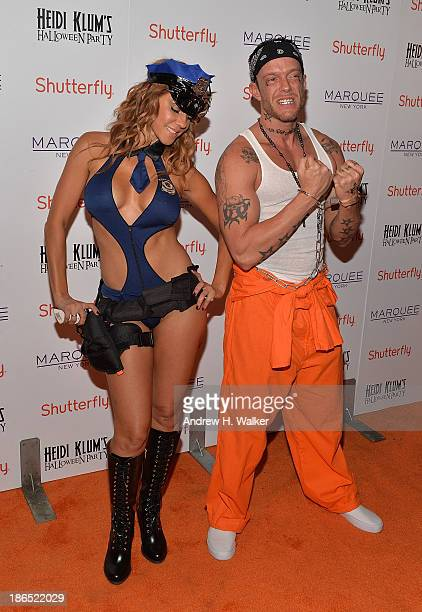 Photographer Jamie McCarthy attends Heidi Klum's Halloween presented by Shutterfly at Marquee on October 31 2013 in New York City