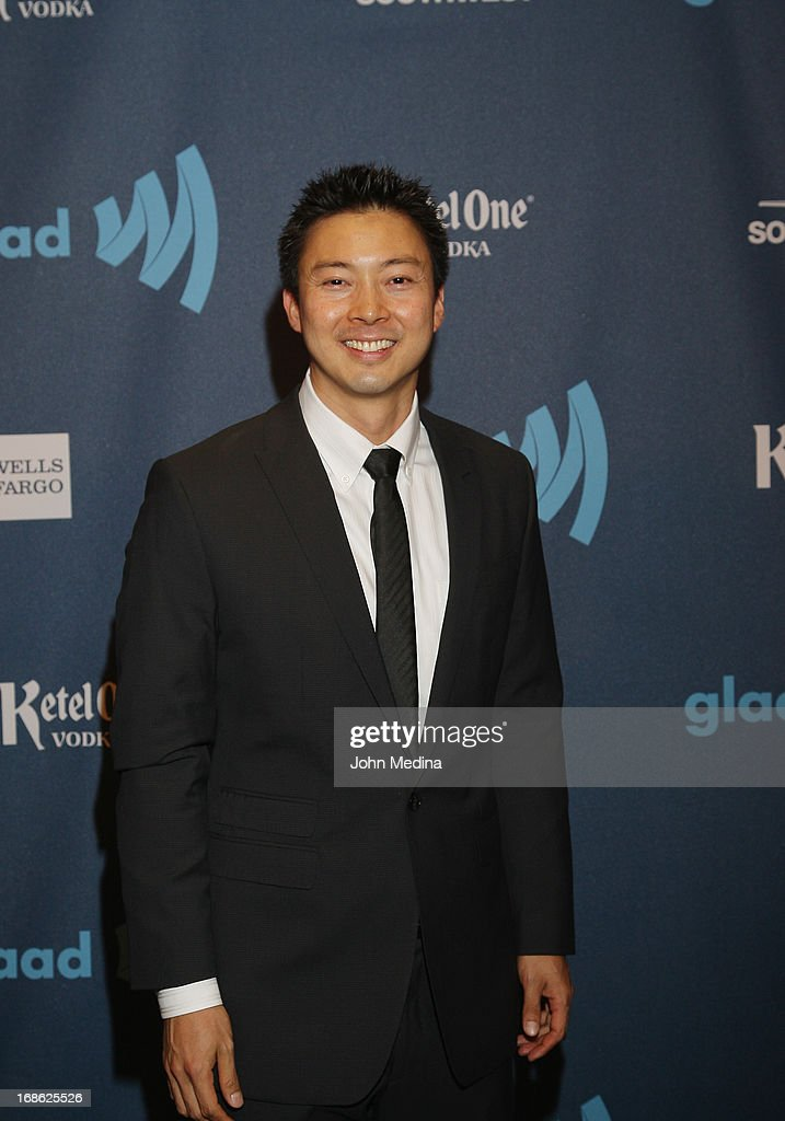 Photographer Jeff Sheng attends the 24th Annual GLAAD Media Awards at the Hilton San Francisco - Union Square on May 11, 2013 in San Francisco, California.