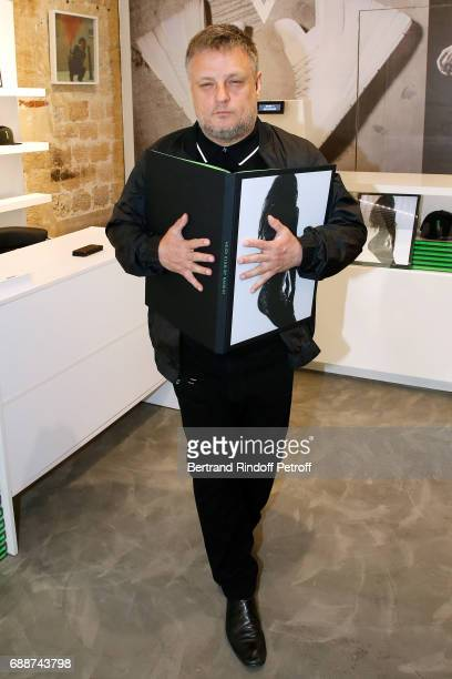 Photographer John Rankin Waddell aka Rankin attends 'Heidi Klum by Rankin' Heidi Klum Rankin launch book at Supra Paris Store on May 26 2017 in Paris...