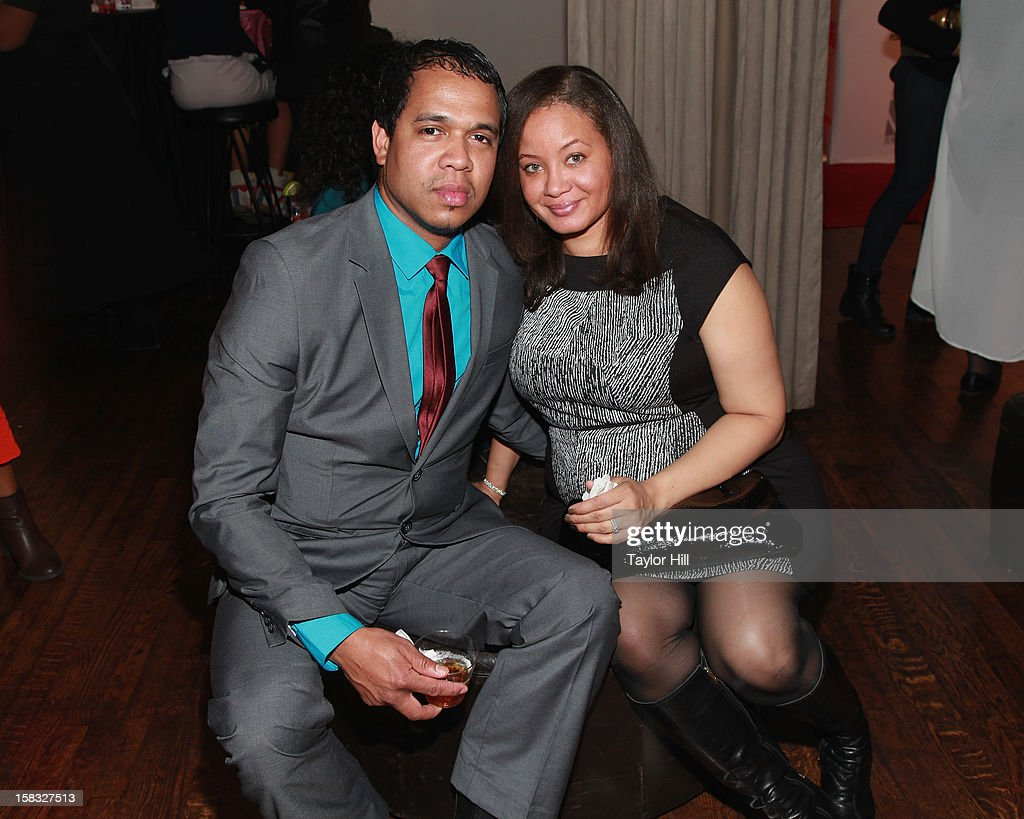 Photographer Johnny Nunez and Dr. Angelique Anderson Nunez attend the 2012 Mirror Mirror Awards at The Union Square Ballroom on December 12, 2012 in New York City.
