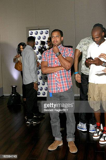 Photographer Johnny Nunez attends the BET Music Matters 'Press Play' event Powered by Monster at TWELVE Atlantic Station on September 27 2013 in...