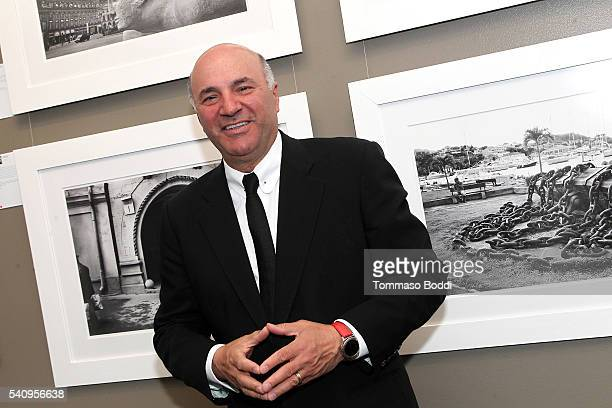 Photographer Kevin O'Leary Hosts Preview For His Photo Exhibit 'Irreconcilable Images' at Timothy Yarger Fine Art Inc on June 17 2016 in Beverly...